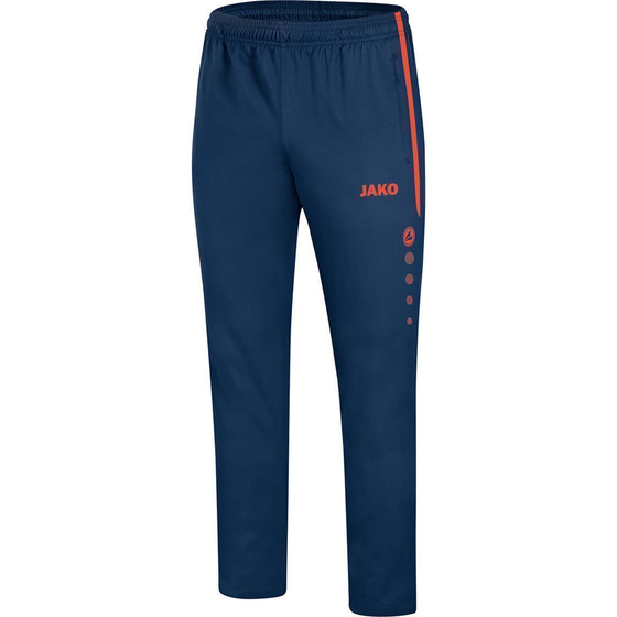 JAKO Präsentationshose Striker 2.0 Damen navy/flame 6519D-18