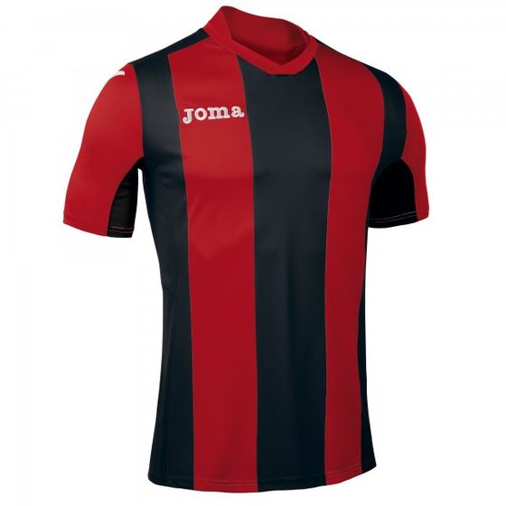 JOMA T-SHIRT PISA RED-BLACK S/S Kids