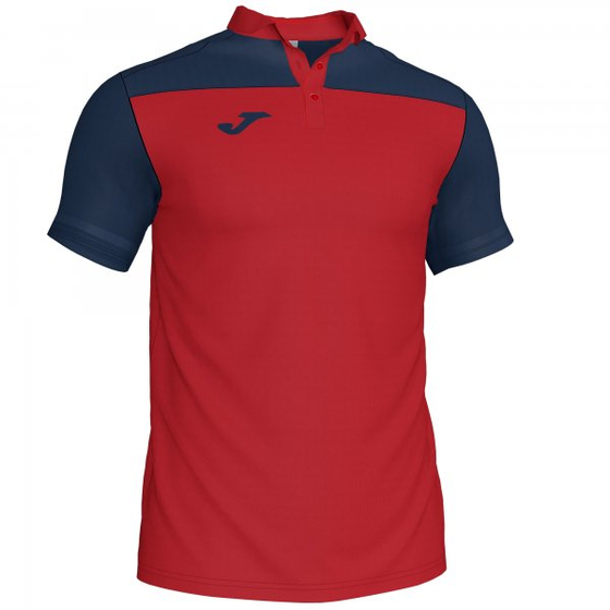 JOMA POLO SHIRT COMBI RED-NAVY S/S Kids
