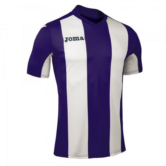 JOMA T-SHIRT PISA PURPLE-WHITE S/S