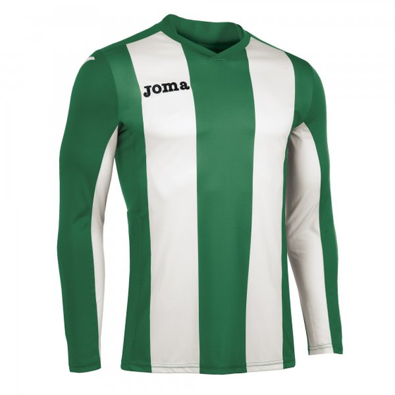 JOMA T-SHIRT PISA GREEN-WHITE  L/S