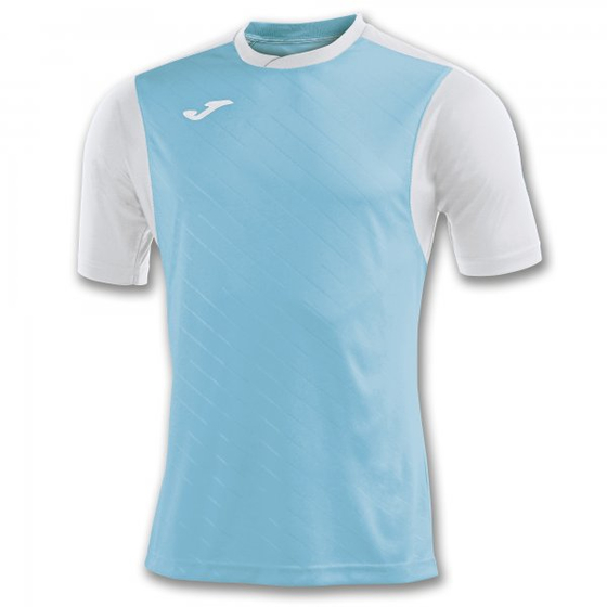 JOMA T-SHIRT TORNEO II TURQUOISE-WHITE S/S