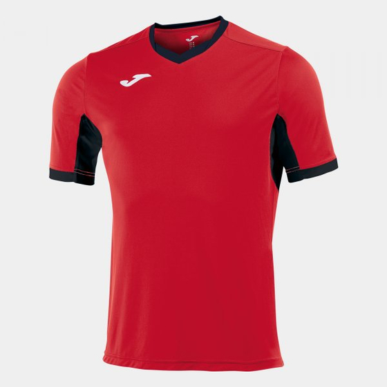 JOMA T-SHIRT CHAMPION IV RED-BLACK S/S