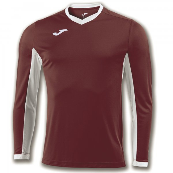JOMA T-SHIRT CHAMPION IV BURGUNDY L/S