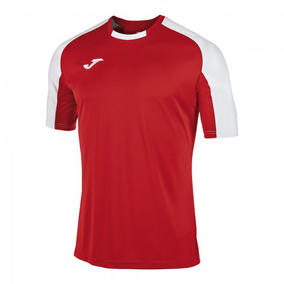 JOMA T-SHIRT ESSENTIAL RED-WHITE S/S