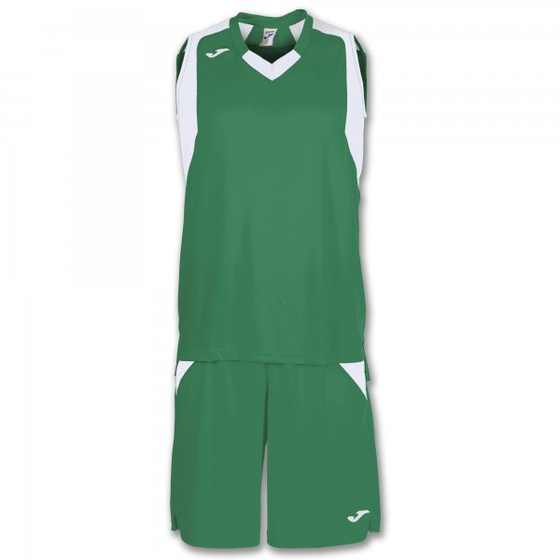 JOMA SET FINAL GREEN-WHITE SLEEVELESS 101115.452