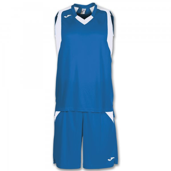 JOMA SET FINAL ROYAL-WHITE SLEEVELESS 101115.702