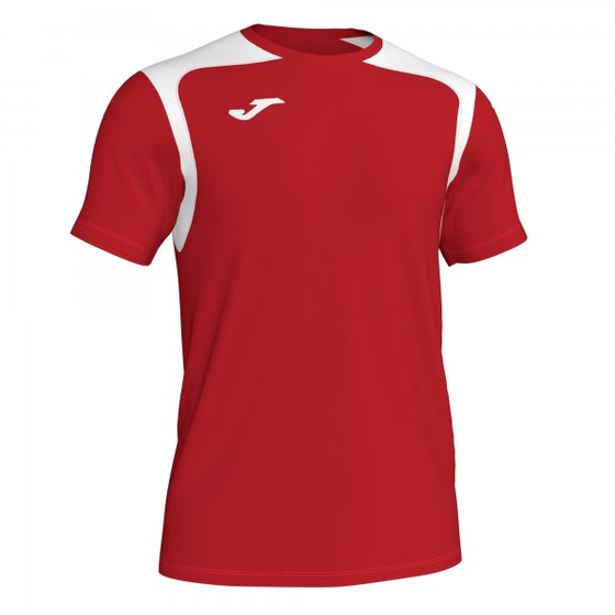 JOMA T-SHIRT CHAMPION V RED-WHITE S/S