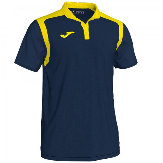 JOMA POLO CHAMPIONSHIP V DARK NAVY-YELLOW S/S 101265.339