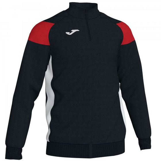 JOMA SWEATSHIRT CREW III BLACK-RED-WHITE