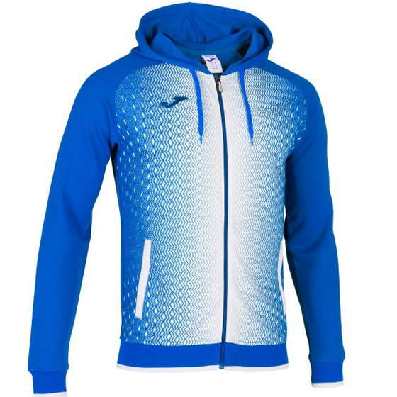 JOMA JACKET HOODED SUPERNOVA ROYAL-WHITE