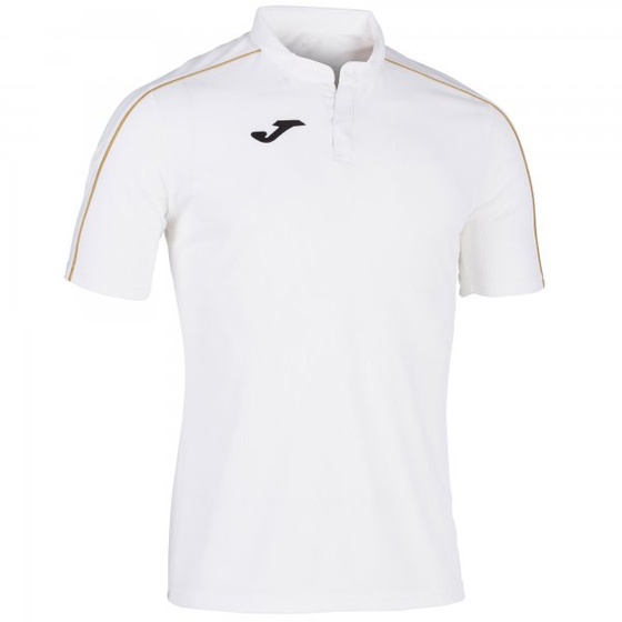 JOMA GOLD T-SHIRT WHITE S/S