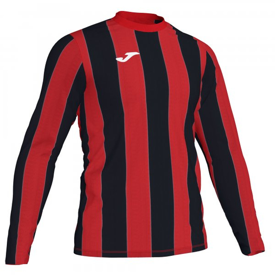 JOMA INTER T-SHIRT RED-BLACK L/S 101291.601