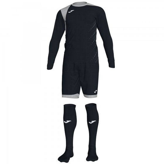 JOMA ZAMORA IV GOALKEEPER SET BLACK L/S 101300.111