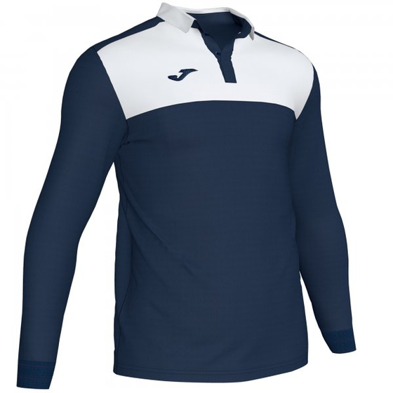JOMA POLO SHIRT WINNER II DARK NAVY-WHITE L/S