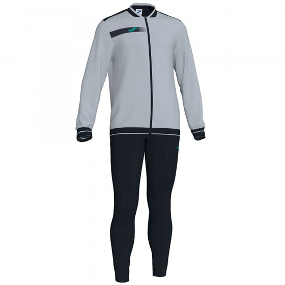 JOMA TRACKSUIT OPEN ANTHRACITE