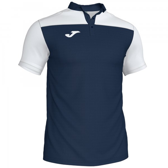 JOMA POLO SHIRT COMBI NAVY-WHITE S/S
