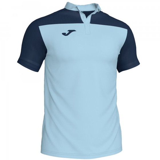 JOMA POLO SHIRT COMBI SKY BLUE-NAVY S/S