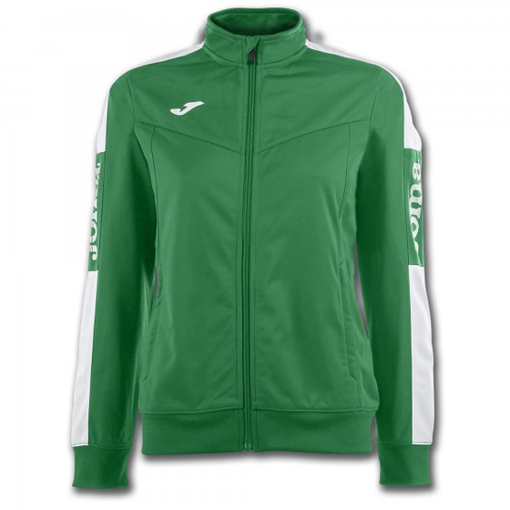 JOMA SWEATSHIRT CHAMPION IV GREEN-WHITE WOMAN