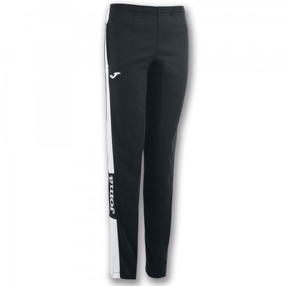 JOMA LONG PANT CHAMPION IV BLACK-WHITE WOMAN