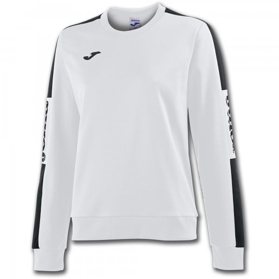 JOMA SWEATSHIRT CHAMPIONSHIP IV WHITE-BLACK WOMAN 900472.201