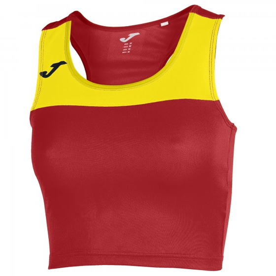 JOMA T-SHIRT RACE WOMAN RED-YELLOW SLEEVELESS WOMAN