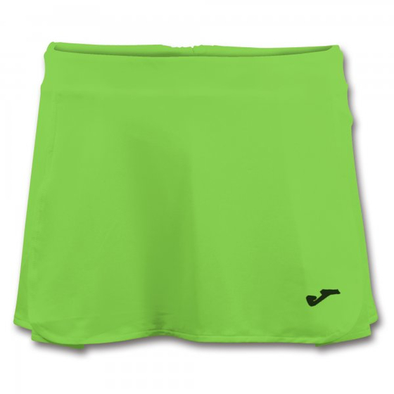 JOMA OPEN II GREEN FLUOR TENNIS SKIRT  WOMAN