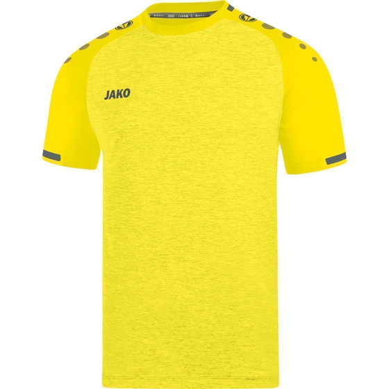 JAKO Trikot Prestige KA Kids citro light meliert/anthrazit 4209K-33