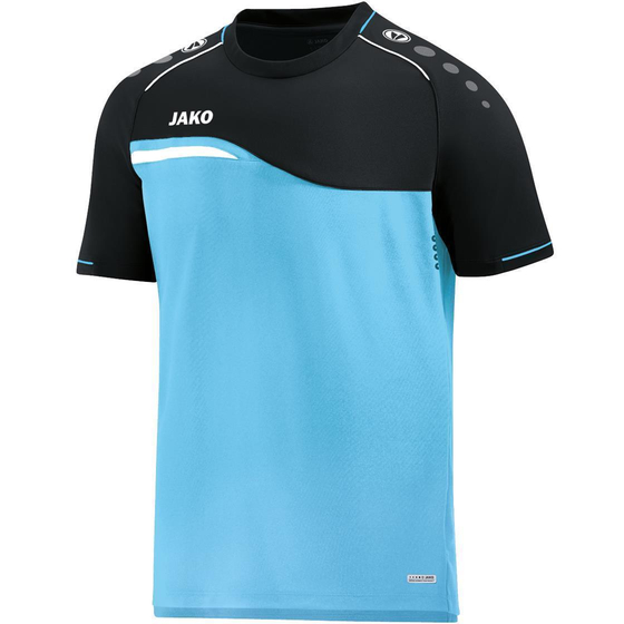 JAKO T-Shirt Competition 2.0 Kids aqua/schwarz 6118K-45