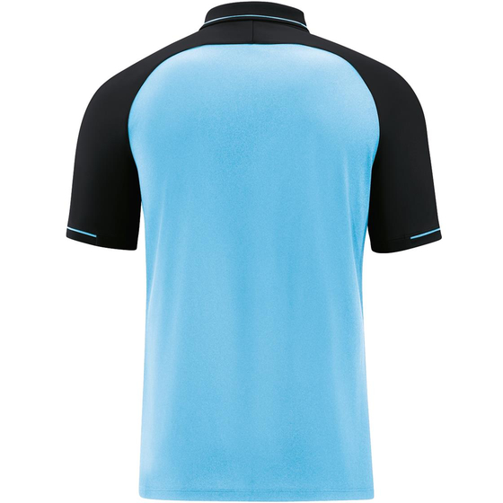 JAKO Polo Competition 2.0 Kids aqua/schwarz 6318K-45