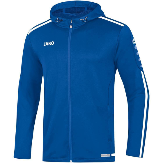 JAKO Kinder Kapuzenjacke Striker 2.0 royal/weiß 6819K-04
