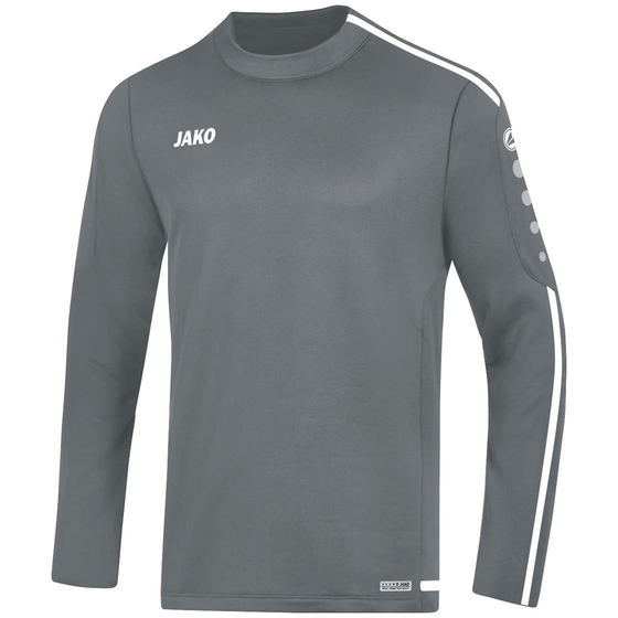 JAKO Kinder Sweat Striker 2.0 steingrau/weiß 8819K-40